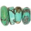 Turquoise Natural China Small 28x30mm Semi-Precious
